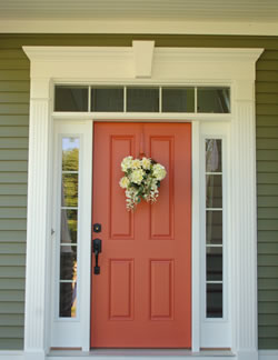 Amazing Exterior Door Trim Exterior Front Door Trim   Home Design Ideas Nice Design