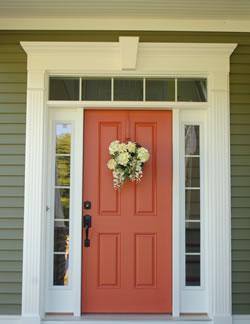 Front Door Trim Connecticut Exterior